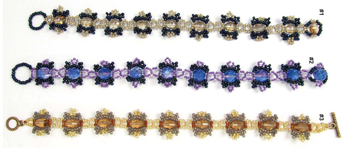 Next Month: Lace Flower Bracelet with Sandra D. Halpenny