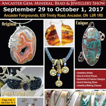 Ancaster Gem and Mineral Show 2017